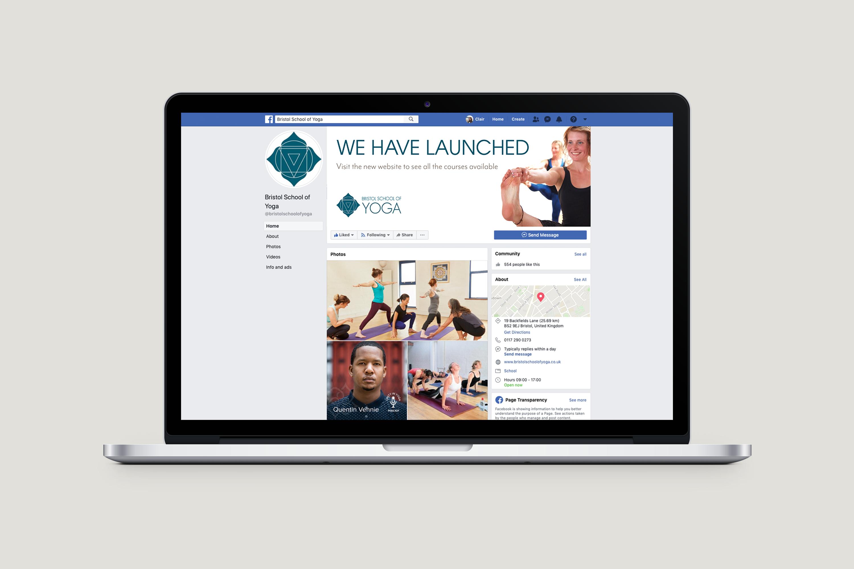 Bristol School of Yoga - Social media assets