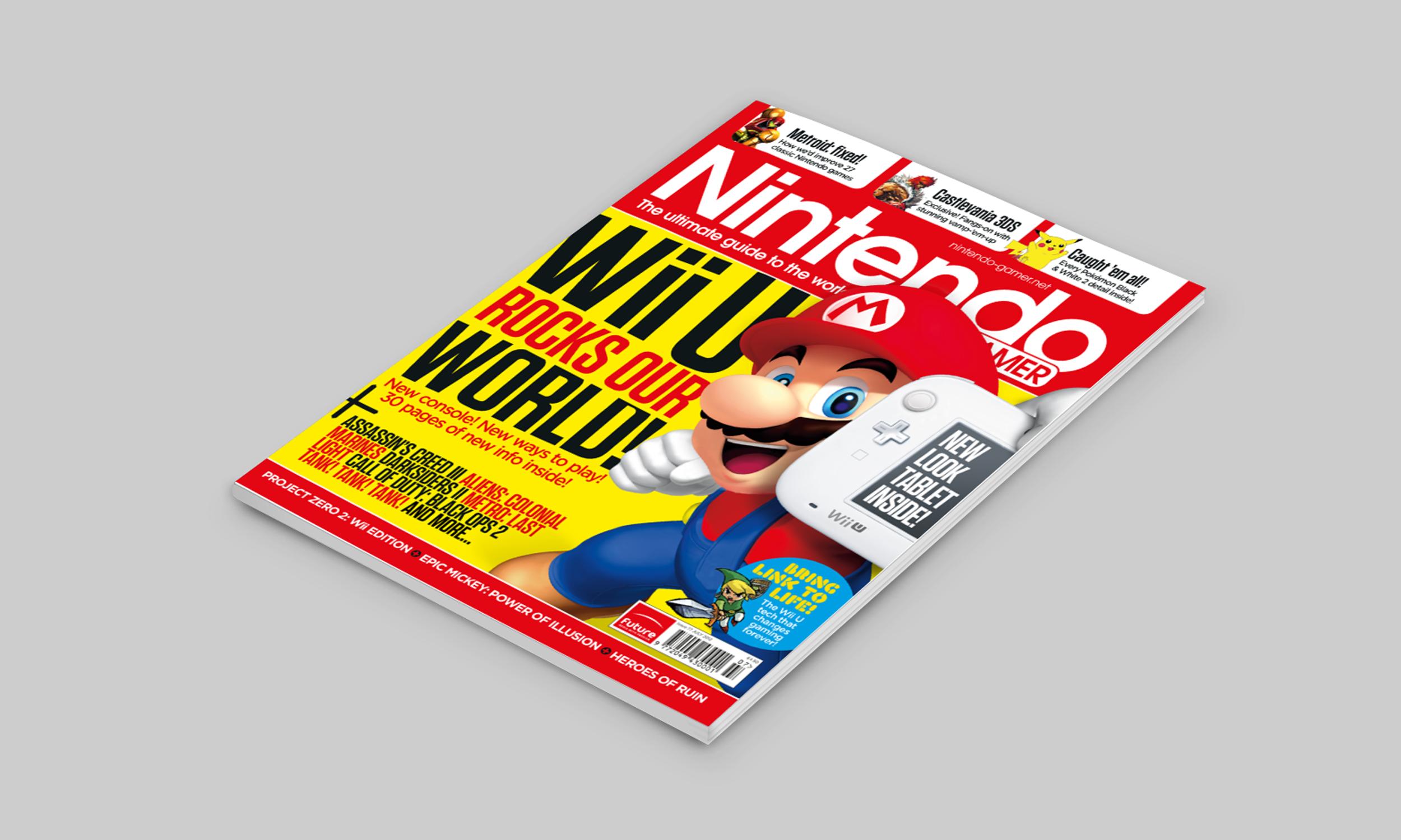 future Publishing - Nintendo Gamer Cover