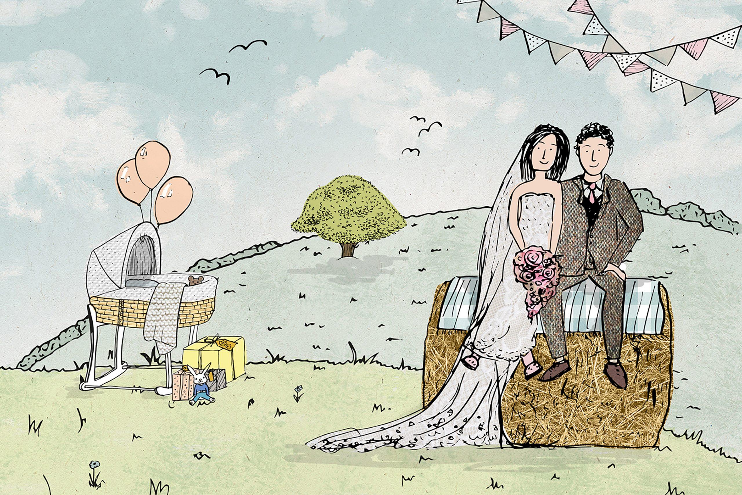 Graceful Gatherings Illustration