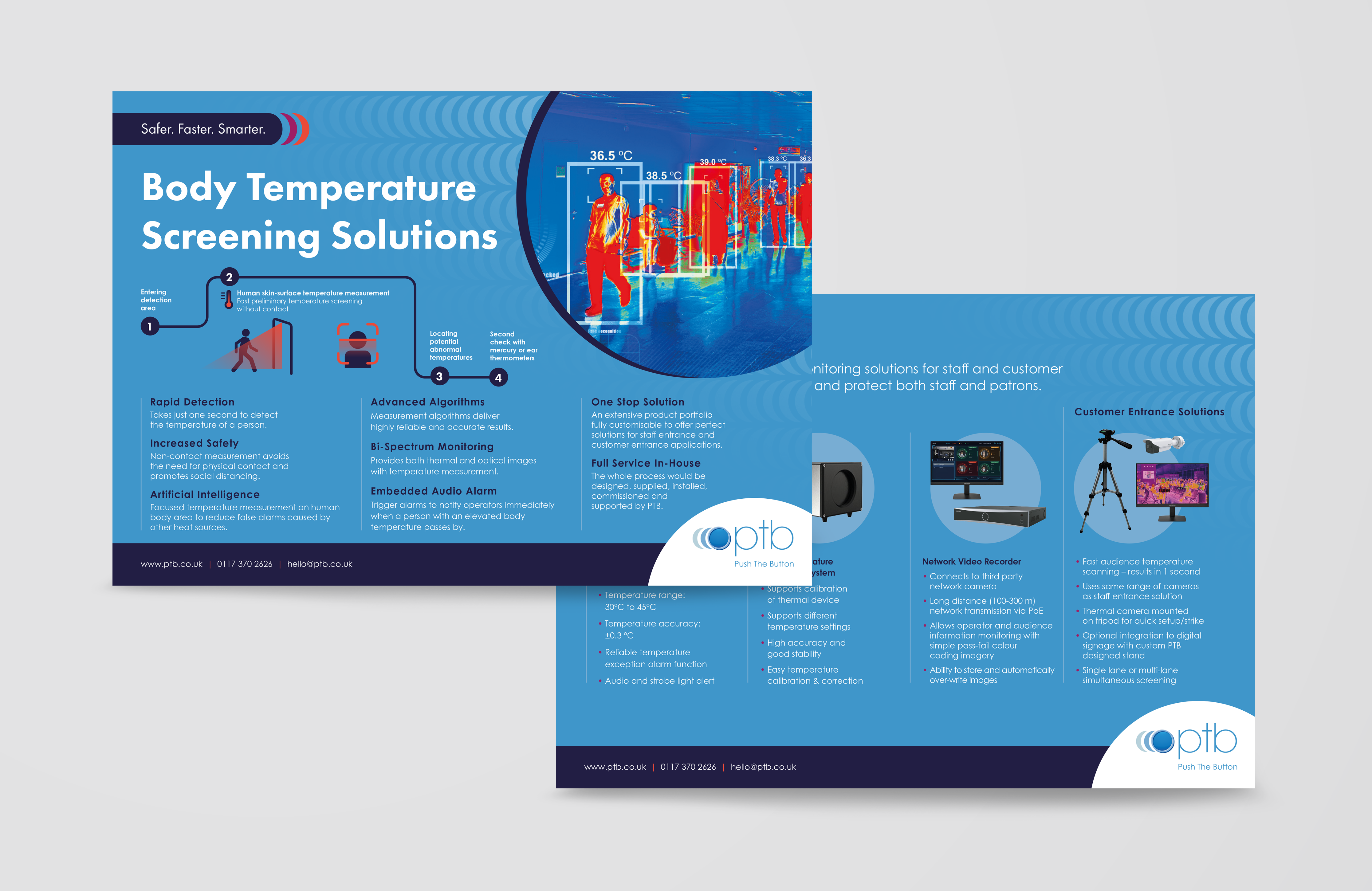 Push the Button thermal imaging flyer