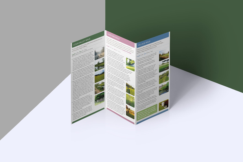 Quenington River Valley Walks leaflet.