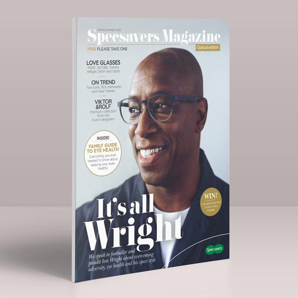 Specsavers Magazine Tile