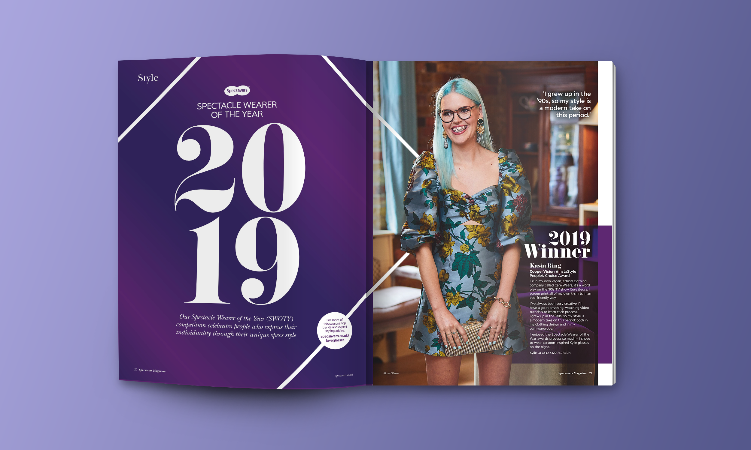 Specsavers Magazine - Spectacle Wearer Of The Year