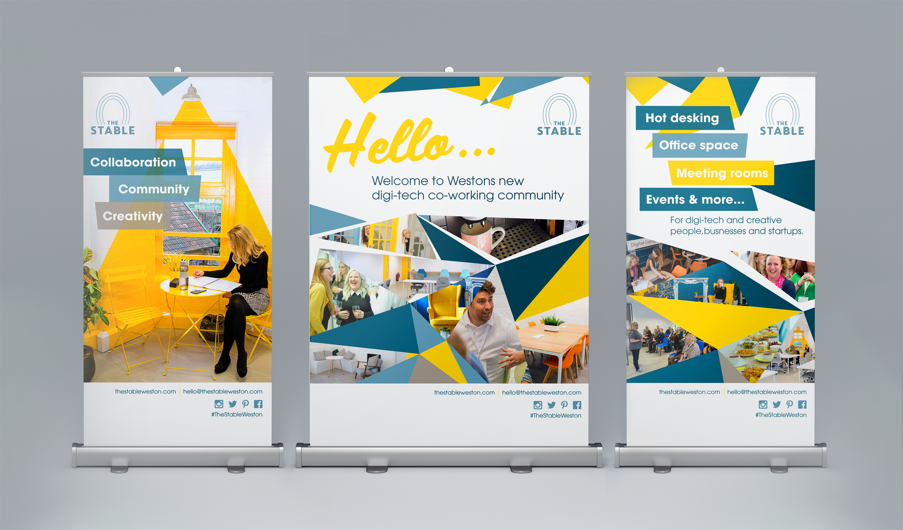 The Stable Roller Banners