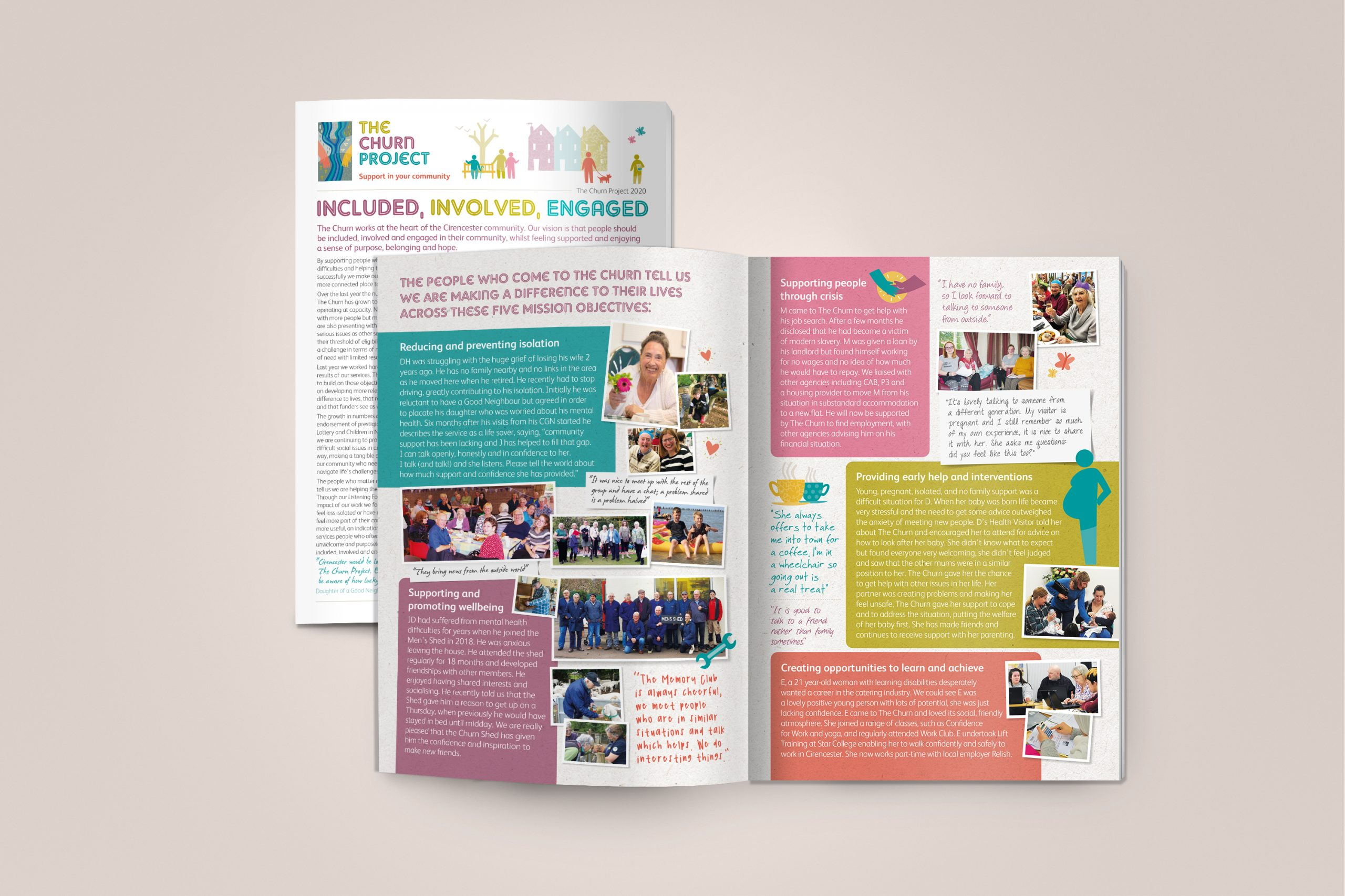 Annual General Meeting (AGM) report created for The Churn Project