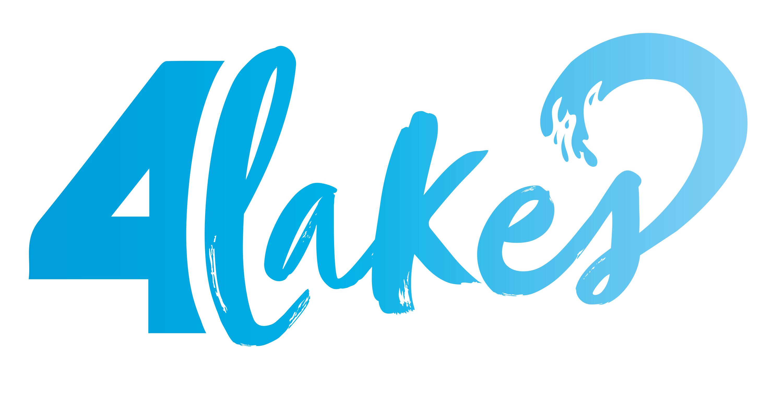 4lakes logo Blue