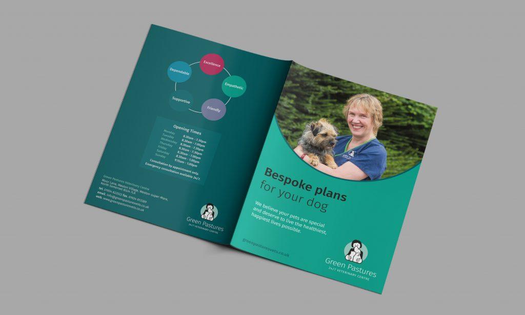 Green Pastures Vets - Package brochures