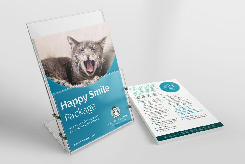 Green Pastures Vets - Starter package brochures
