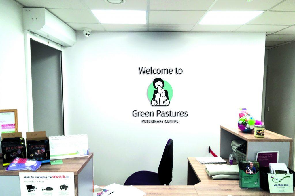 Green Pastures Vets - Logo