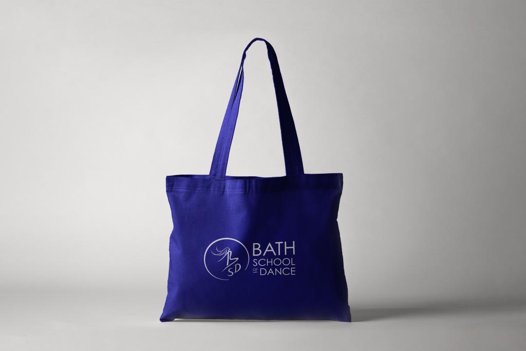 Bath School of Dance Tote Bag